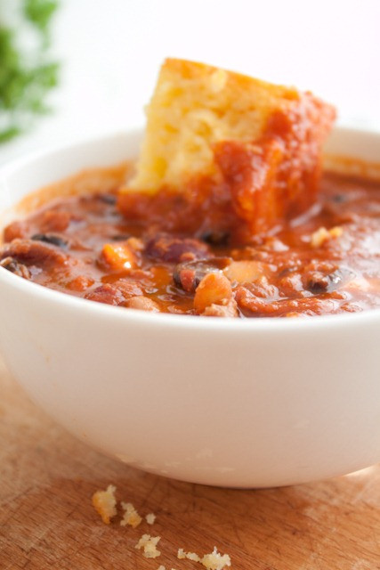 Sweet Potato Chili Slow Cooker  The Best Slow Cooker Sweet Potato Chili