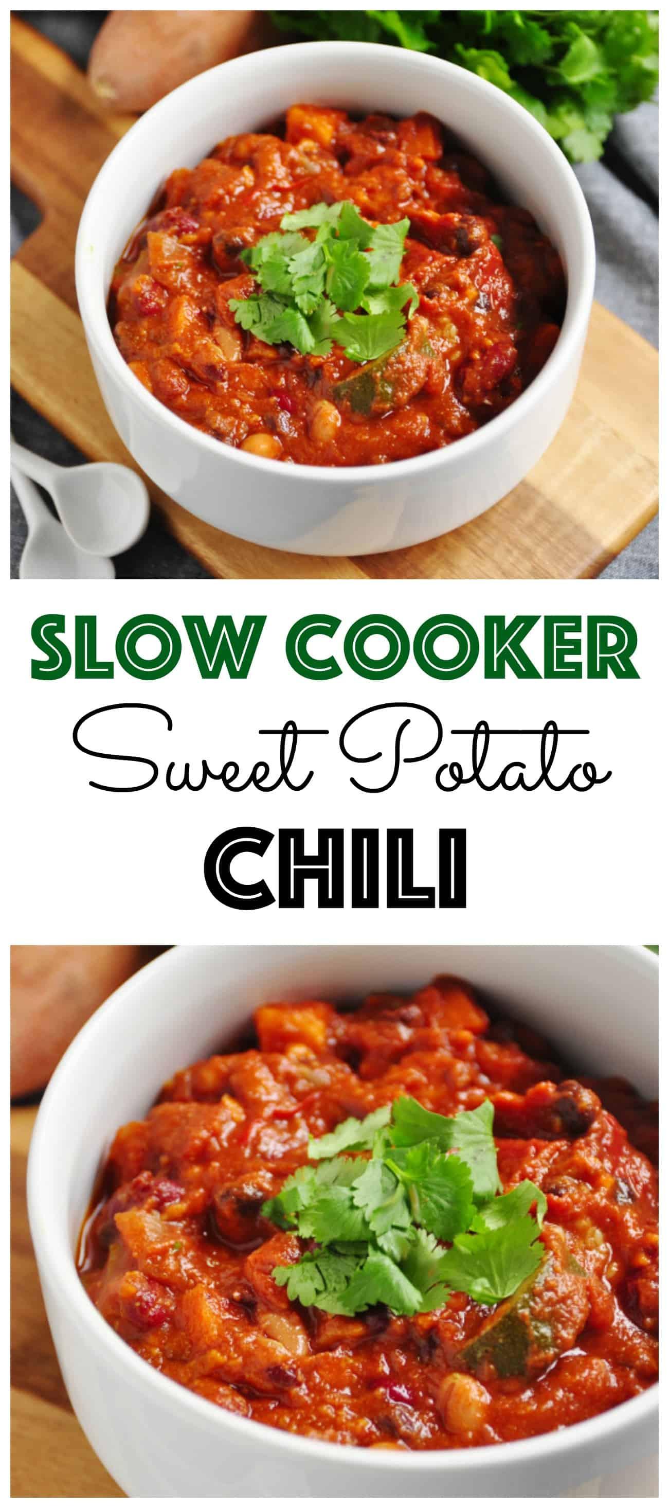 Sweet Potato Chili Slow Cooker  Slow Cooker Sweet Potato Chili Be Whole Be You