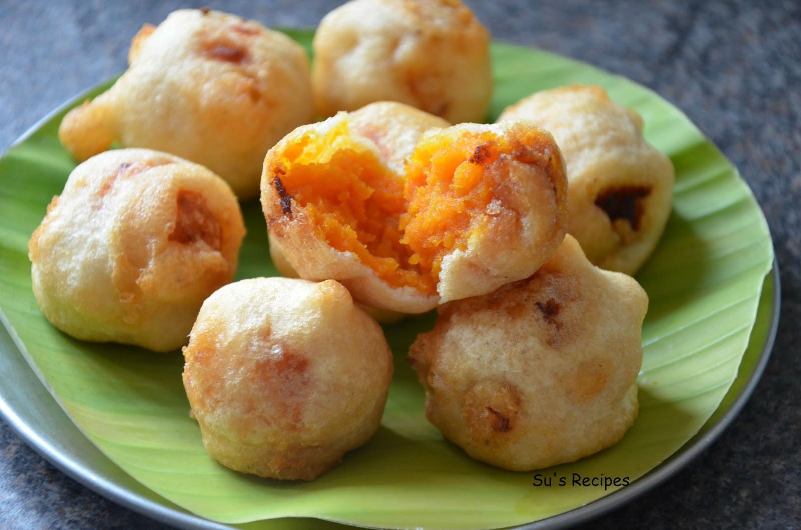 Sweet Potato Dessert Recipe  Su s Recipes Boorelu Sweet Potato Dessert