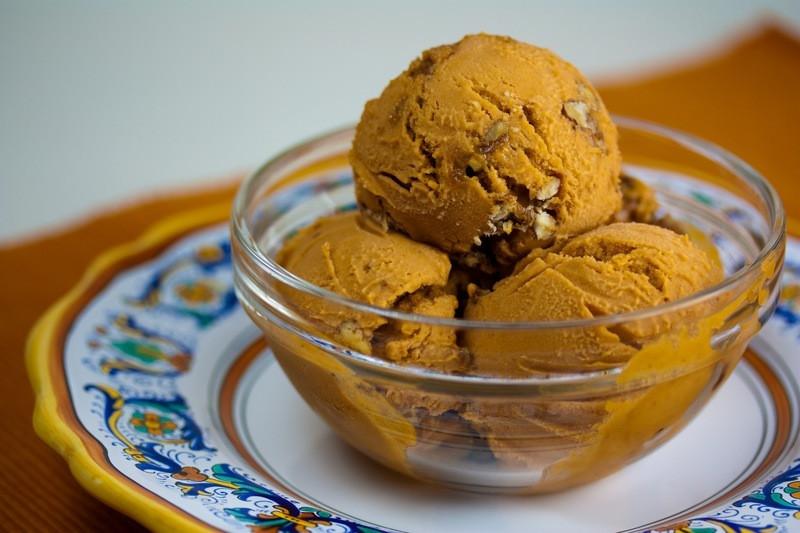 Sweet Potato Dessert Recipe  Vegan Sweet Potato Pecan Ice Cream Veganbaking