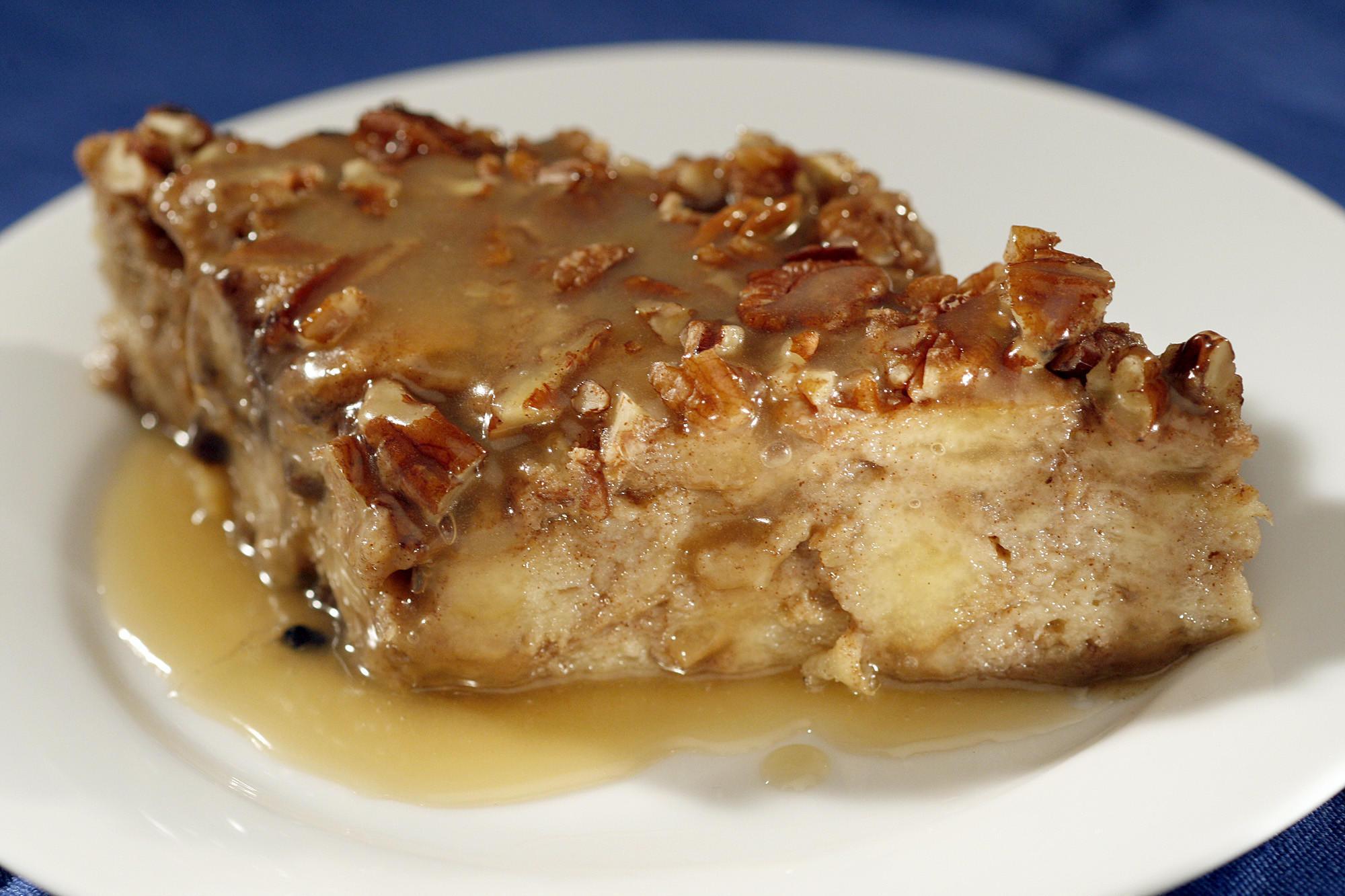 Sweet Potato Dessert Recipe  Recipe Zea s sweet potato bread pudding with rum sauce