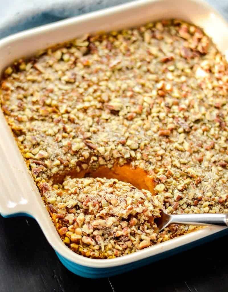 Sweet Potato Dishes  Healthy Sweet Potato Casserole Paleo Vegan & Sugar Free