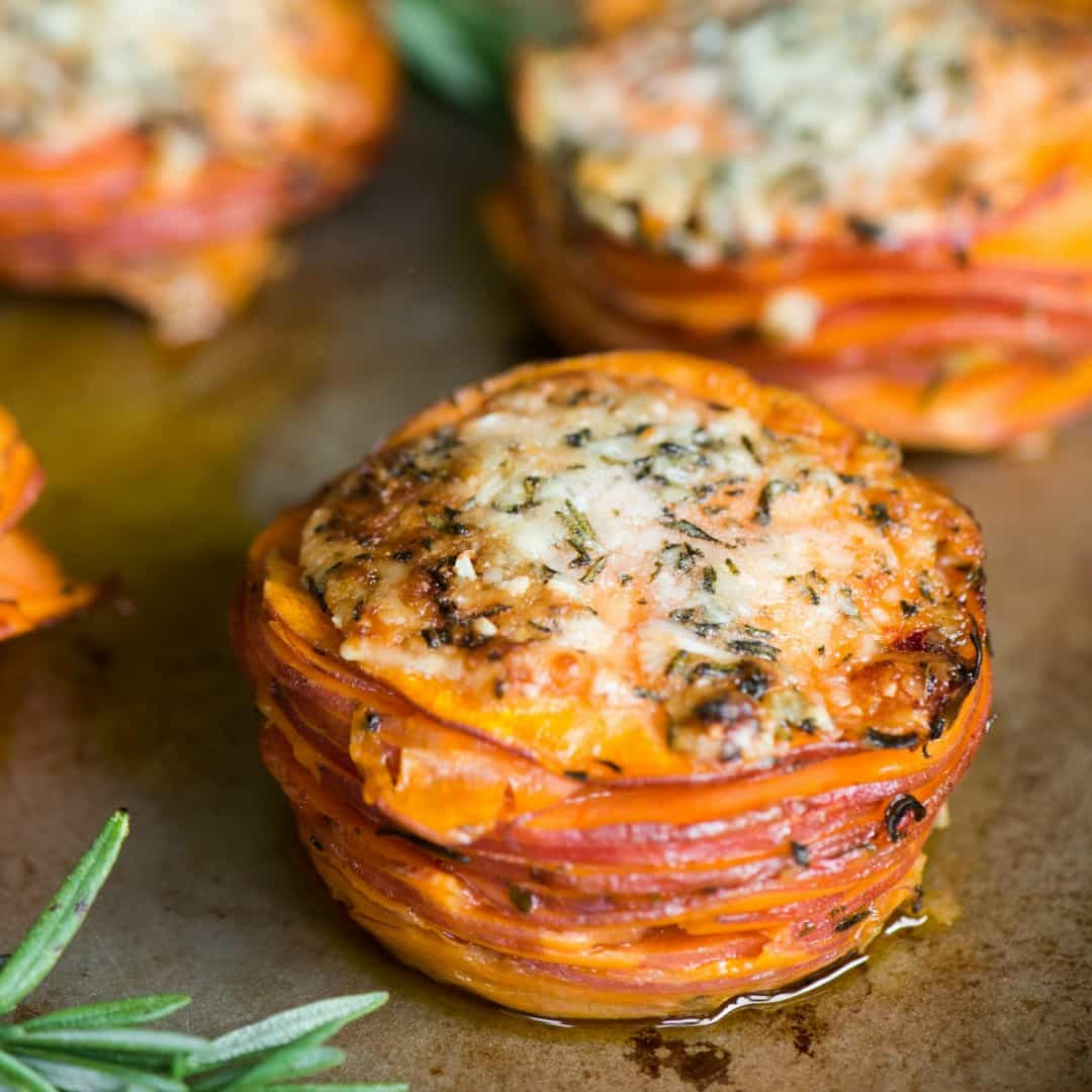 Sweet Potato Dishes  Sweet Potato Stacks ⋆ Real Housemoms