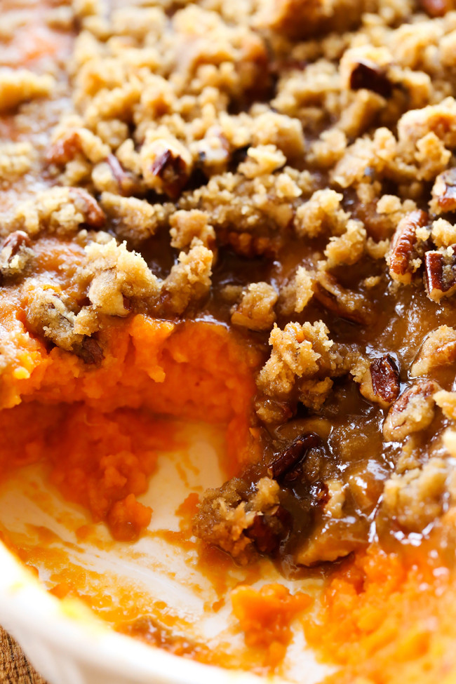 Sweet Potato Dishes  Sweet Potato Casserole Thanksgiving Side Dish Chef in