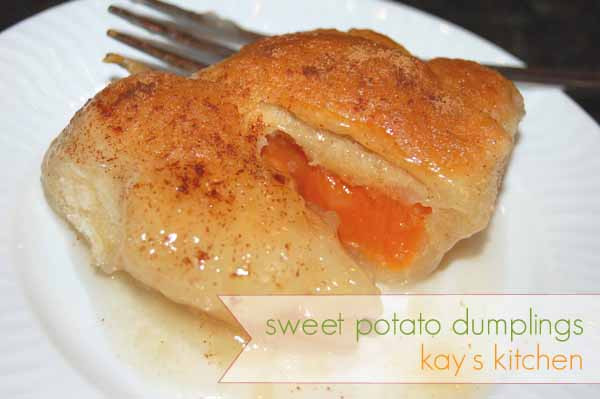 Sweet Potato Dumplings  kay s kitchen sweet potato dumplings