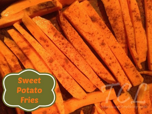 Sweet Potato French Fries  Sweet Potato French Fries Recipe