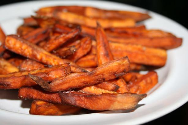 Sweet Potato French Fries  Sweet Potato French Fries Recipe Food