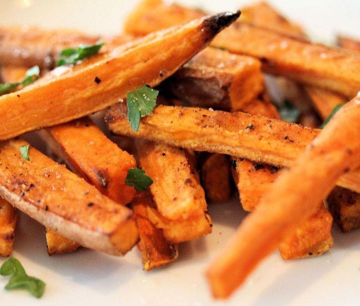 Sweet Potato French Fries  Sweet Potatoes Sweet Potato French Fries