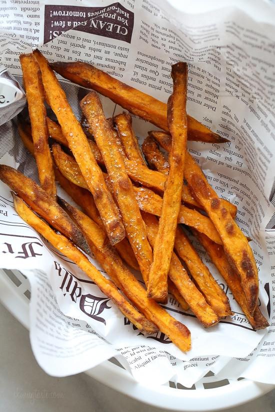 Sweet Potato Fries Air Fryer  Crispy Air Fryer Sweet Potato Fries