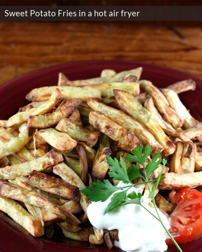Sweet Potato Fries Air Fryer  Sweet potato fries Hot Air Frying