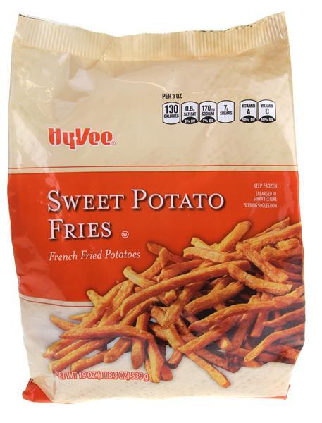 Sweet Potato Fries Calories  Hy Vee Sweet Potato Fries