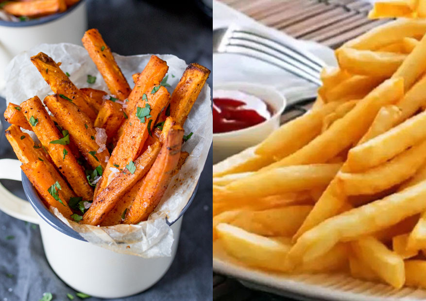 Sweet Potato Fries Calories  Nutritional Value Sweet Potato Fries Vs Regular Fries