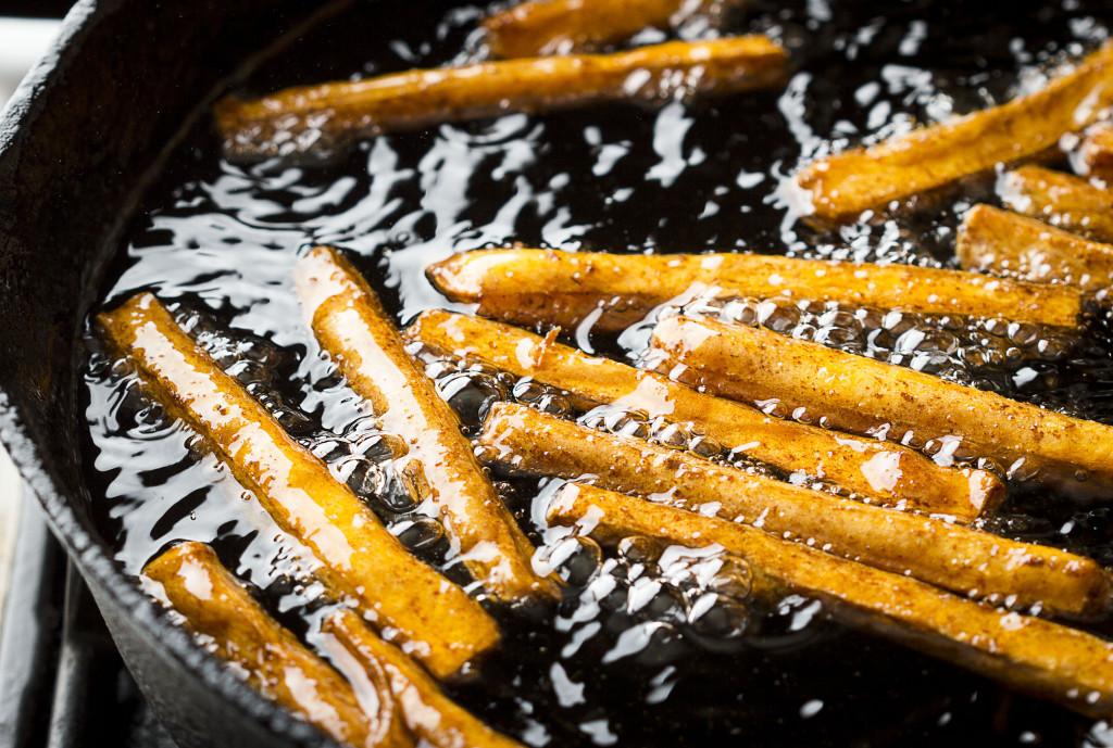 Sweet Potato Fries Deep Fried  Crispy Sweet Potato Fries Recipe Delicious Sweet Potato