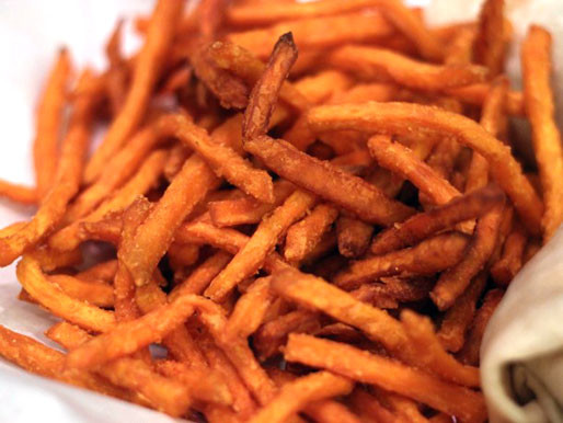 Sweet Potato Fries Deep Fried  Deep Fried Chicago R J Grunts