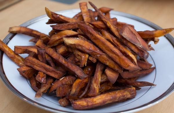 Sweet Potato Fries Deep Fried  How to Make Deep Fried Sweet Potato Fries and a Much