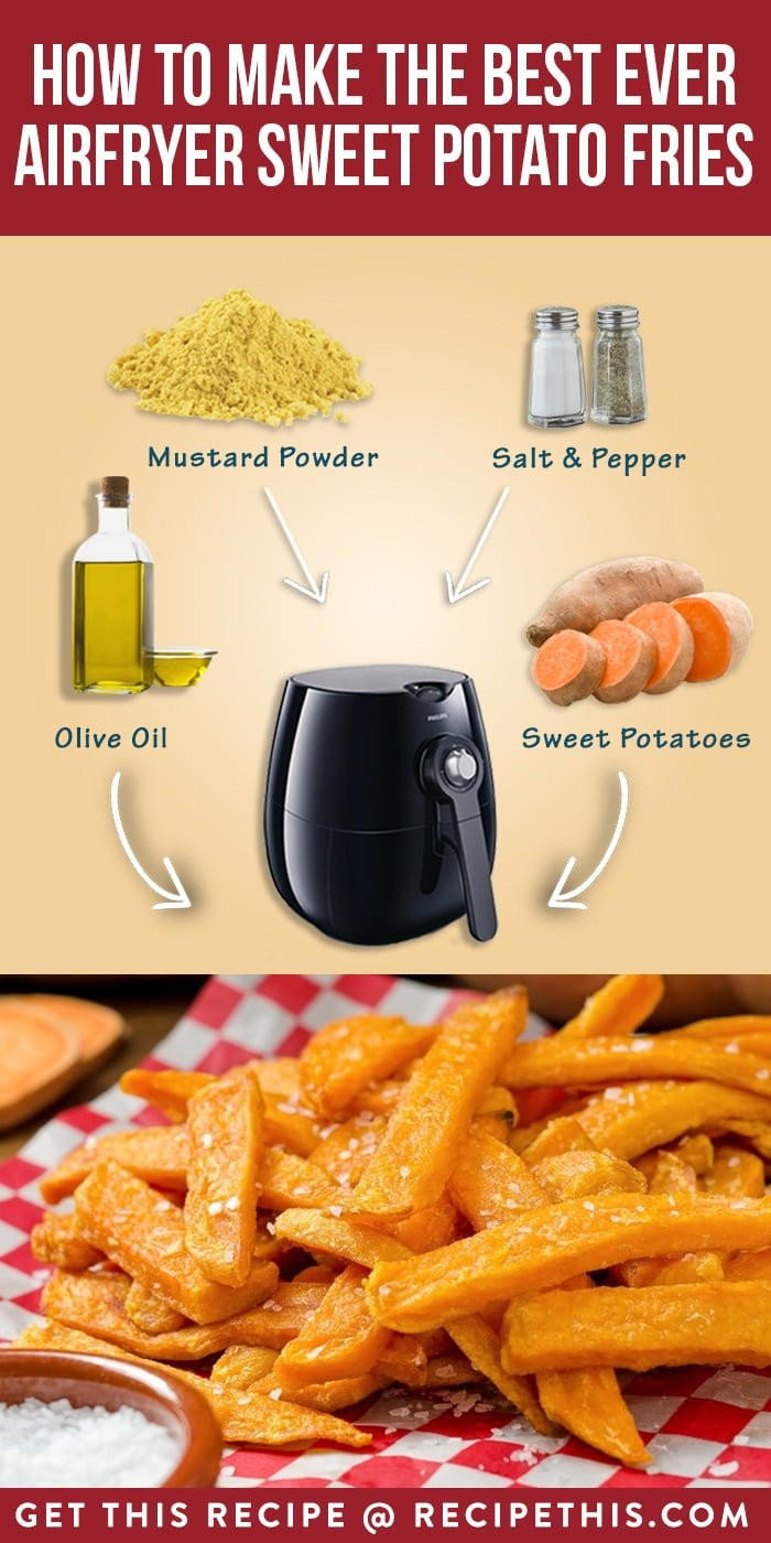 Sweet Potato Fries In Air Fryer  How To Make The Best Ever Airfryer Sweet Potato Fries