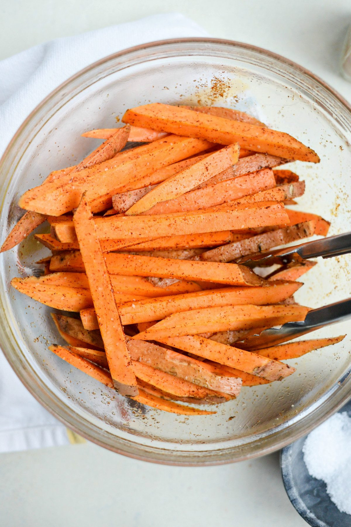 Sweet Potato Fries In Air Fryer  Simply Scratch Air Fryer Crispy Sweet Potato Fries