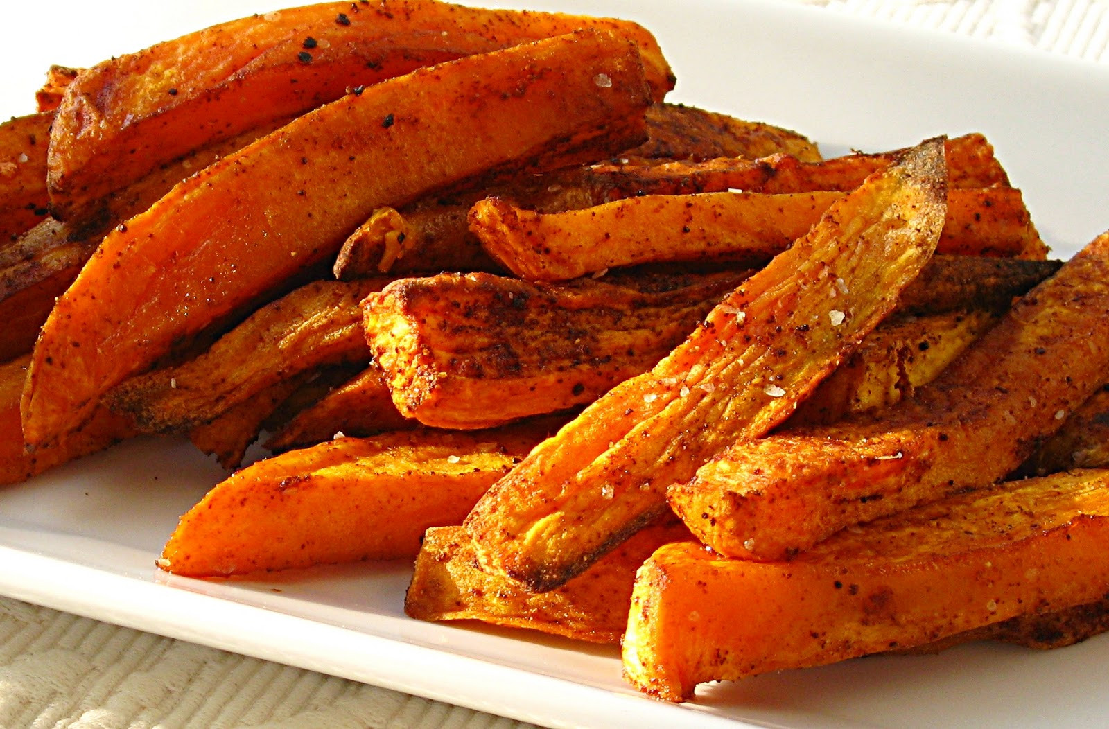 Sweet Potato Fries In Oven  All That Splatters Sweet Potato Oven Fries with Avocado Dip