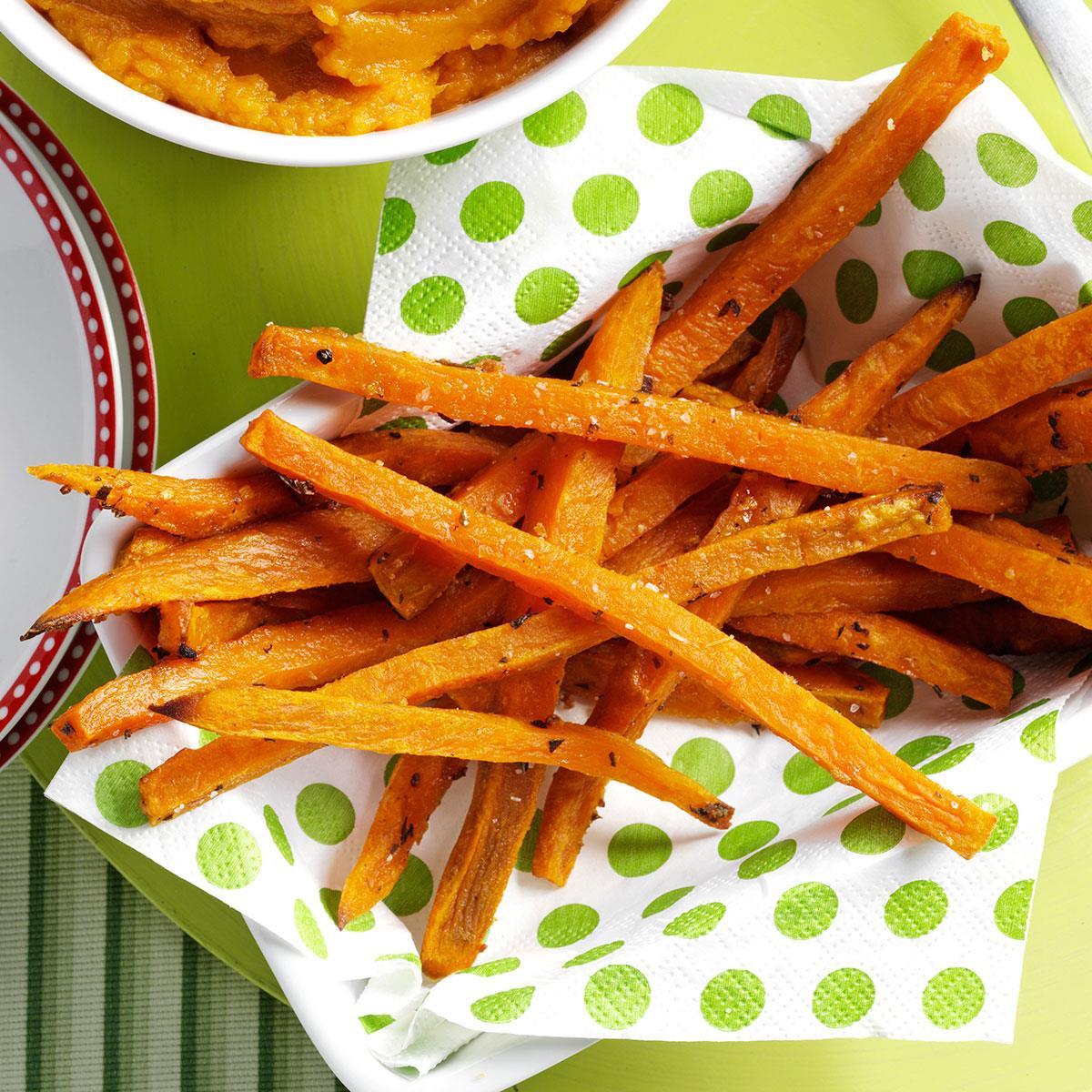 Sweet Potato Fries Recipes  Rosemary Sweet Potato Fries Recipe