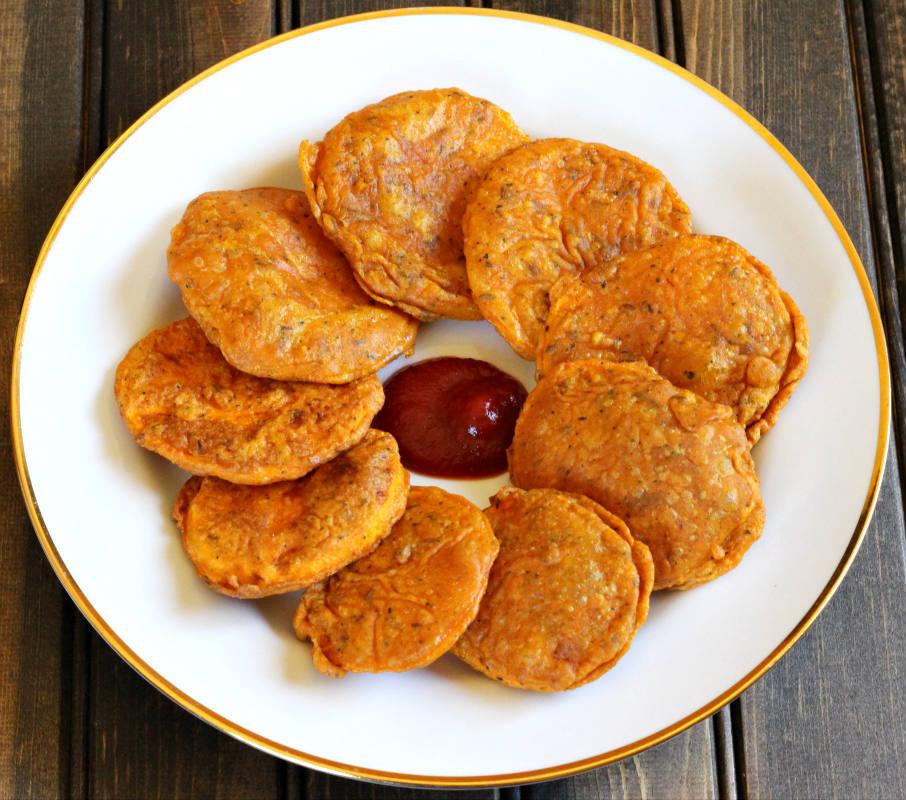Sweet Potato Fritters  SWEET POTATO FRITTERS Cook with Kushi