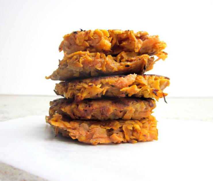 Sweet Potato Fritters  2 ingre nt Sweet Potato Fritters