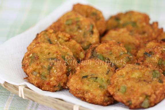 Sweet Potato Fritters  My Kitchen Snippets Sweet Potato Fritters