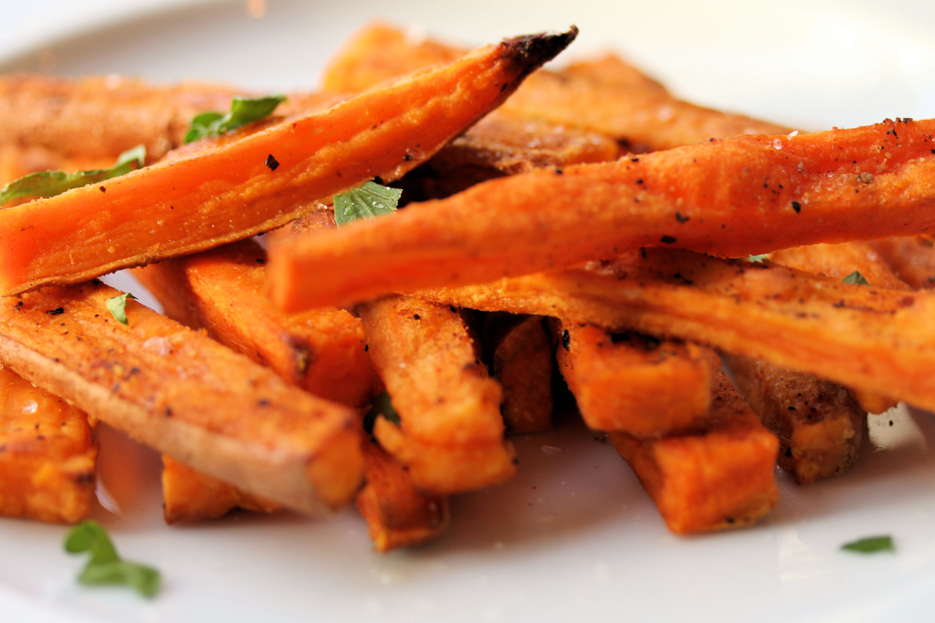 Sweet Potato Fry Recipe  baked sweet potato fries