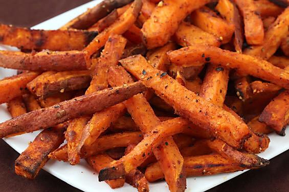 Sweet Potato Fry Recipe  Oven Baked Sweet Potato Fries