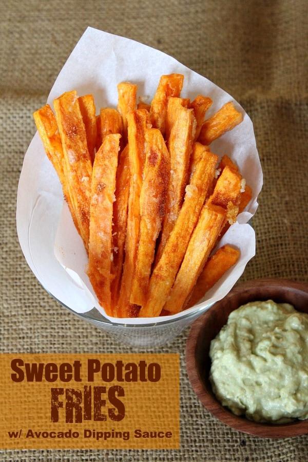 Sweet Potato Fry Recipe  Sweet Potato Fries Recipe Girl