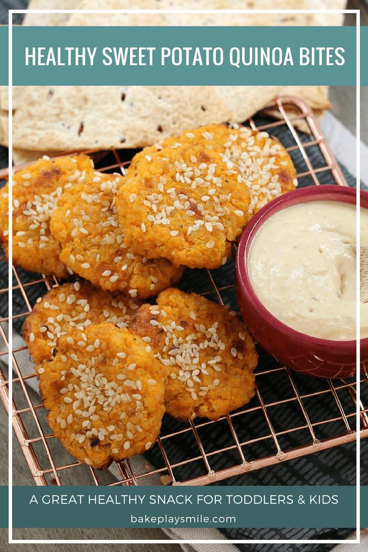 Sweet Potato Healthy  Healthy Sweet Potato Quinoa Bites Bake Play Smile