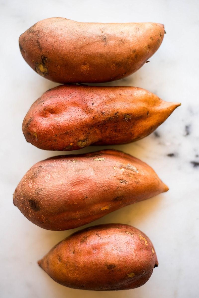 Sweet Potato Healthy  Sweet Potato Skins • A Sweet Pea Chef