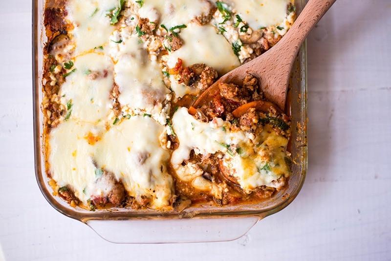 Sweet Potato Lasagna  Sweet Potato Lasagna • A Sweet Pea Chef