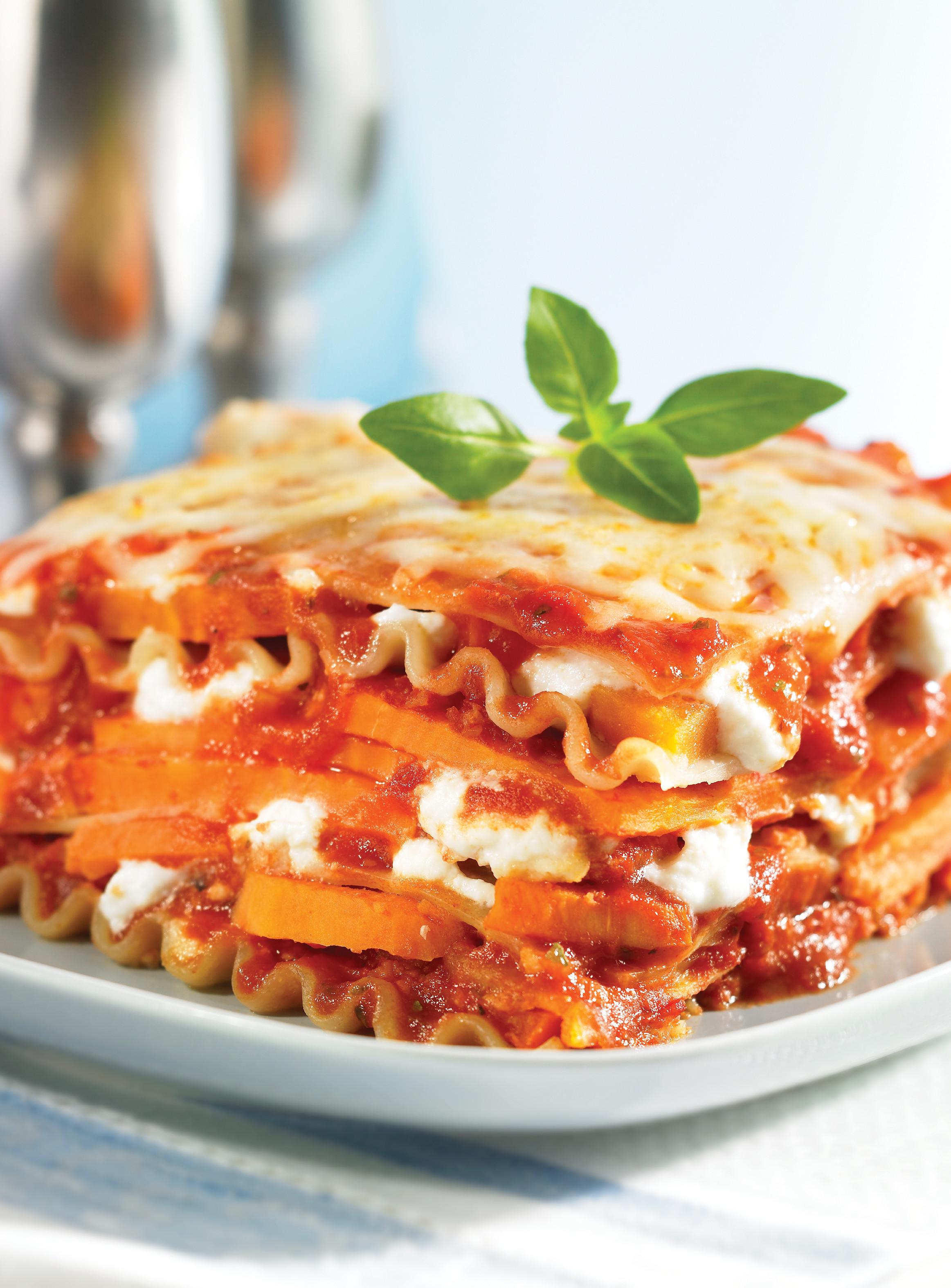 Sweet Potato Lasagna  A Crock Pot Sweet Potato Lasagna Recipe