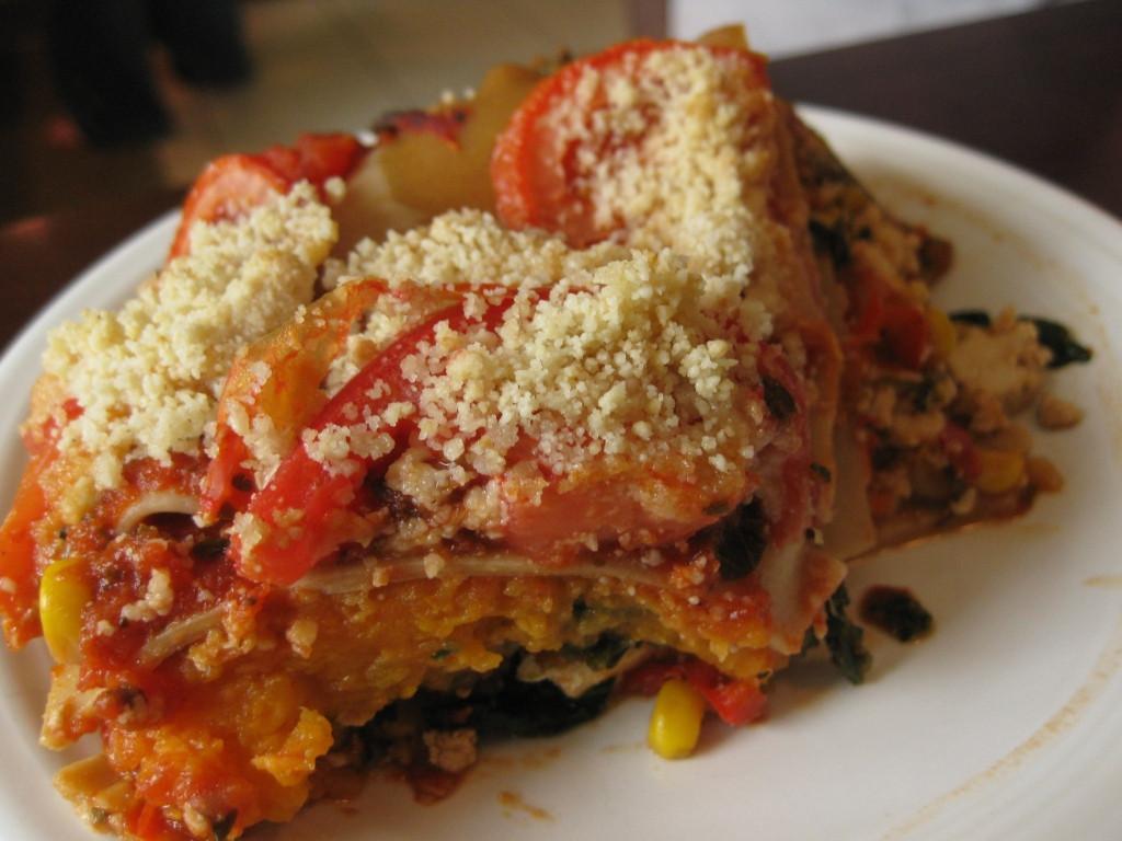 Sweet Potato Lasagna  The Chubby Vegan Sweet Potato Lasagna