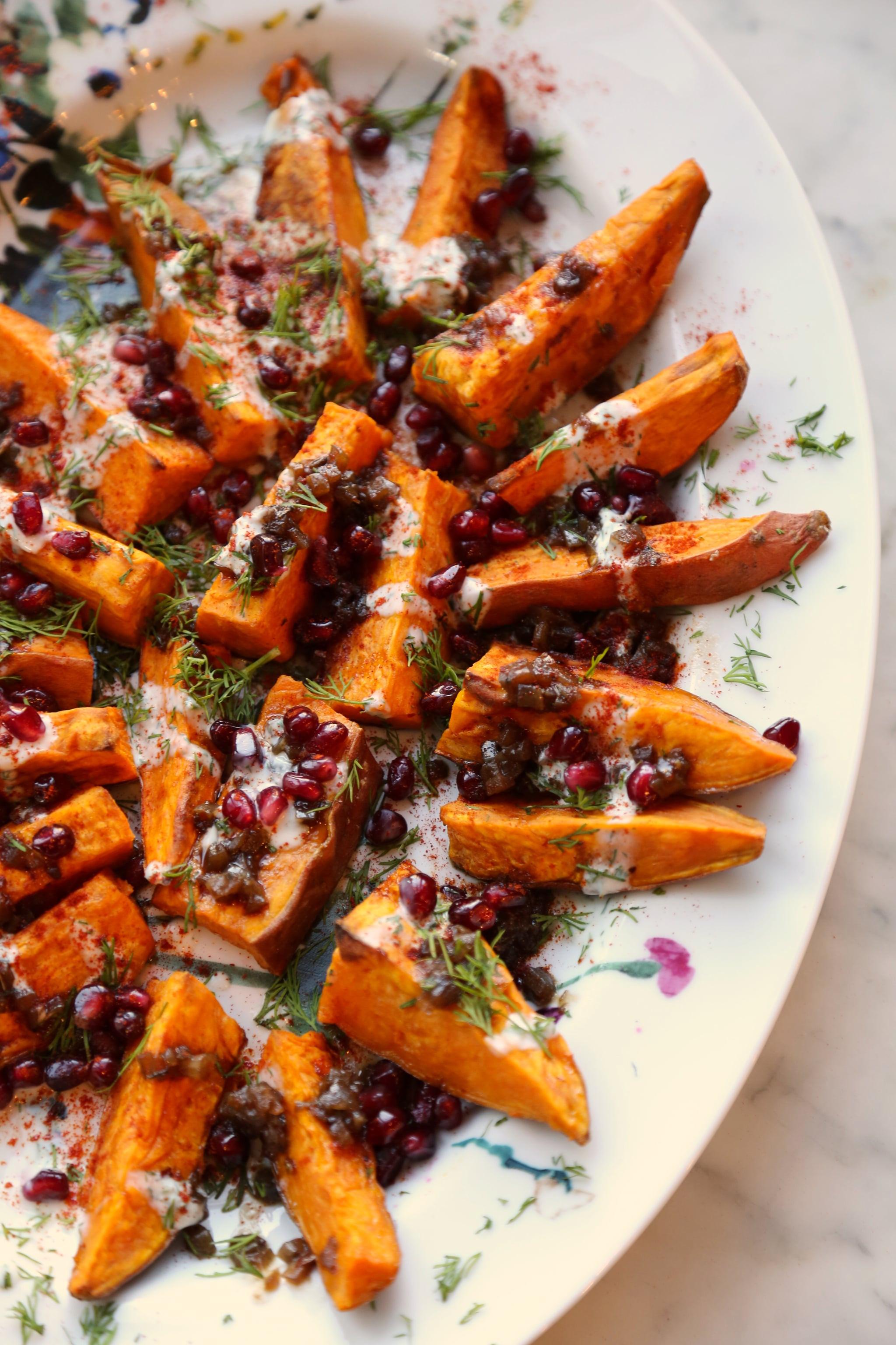 Sweet Potato Meals  Padma Lakshmi s Roasted Sweet Potatoes Recipe