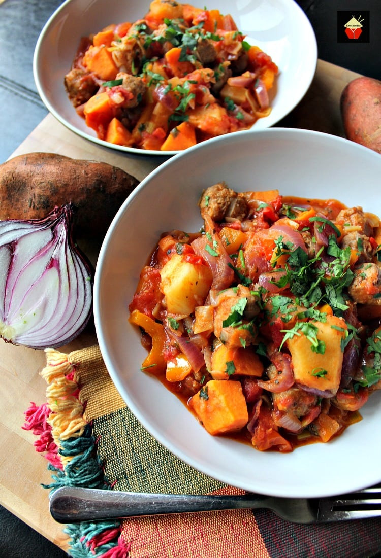 Sweet Potato Meals  Sausage and Sweet Potato Dinner A really quick easy and