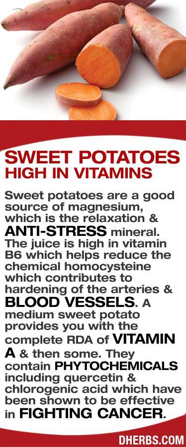 Sweet Potato Nutrition  Best 25 Sources of stress ideas on Pinterest