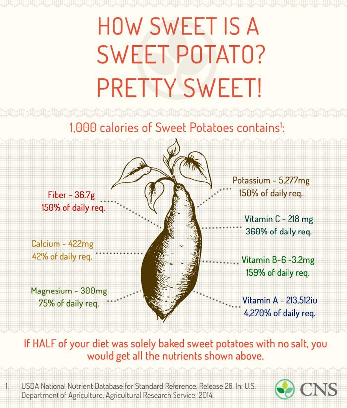 Sweet Potato Nutrition Information  Crispy Sweet Potato Chips