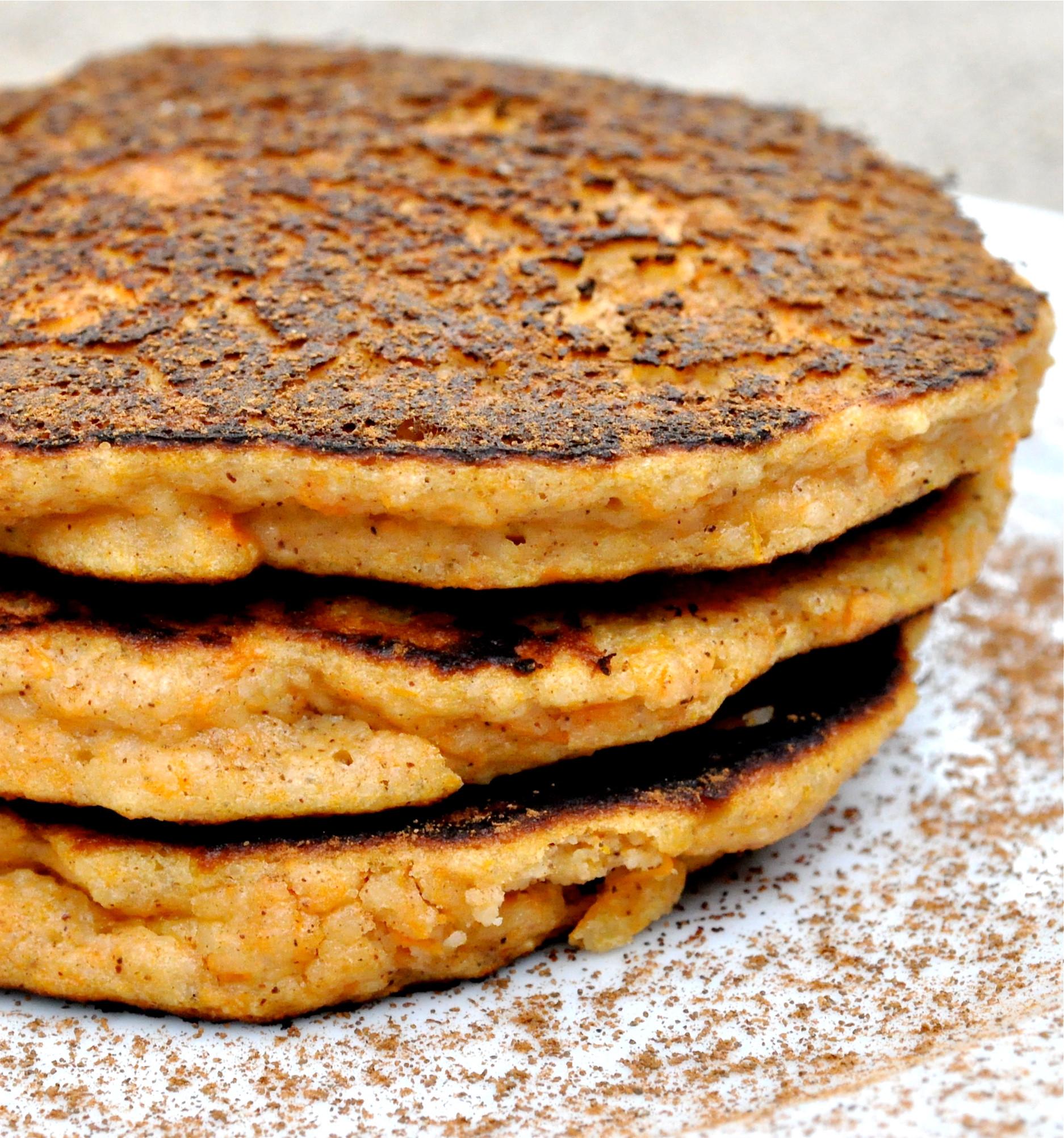Sweet Potato Paleo  Paleo Sweet Potato Pancakes Fed & Fit
