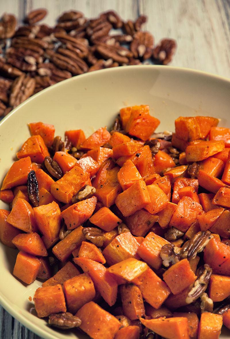Sweet Potato Paleo  Pecan and Sweet Potato Side