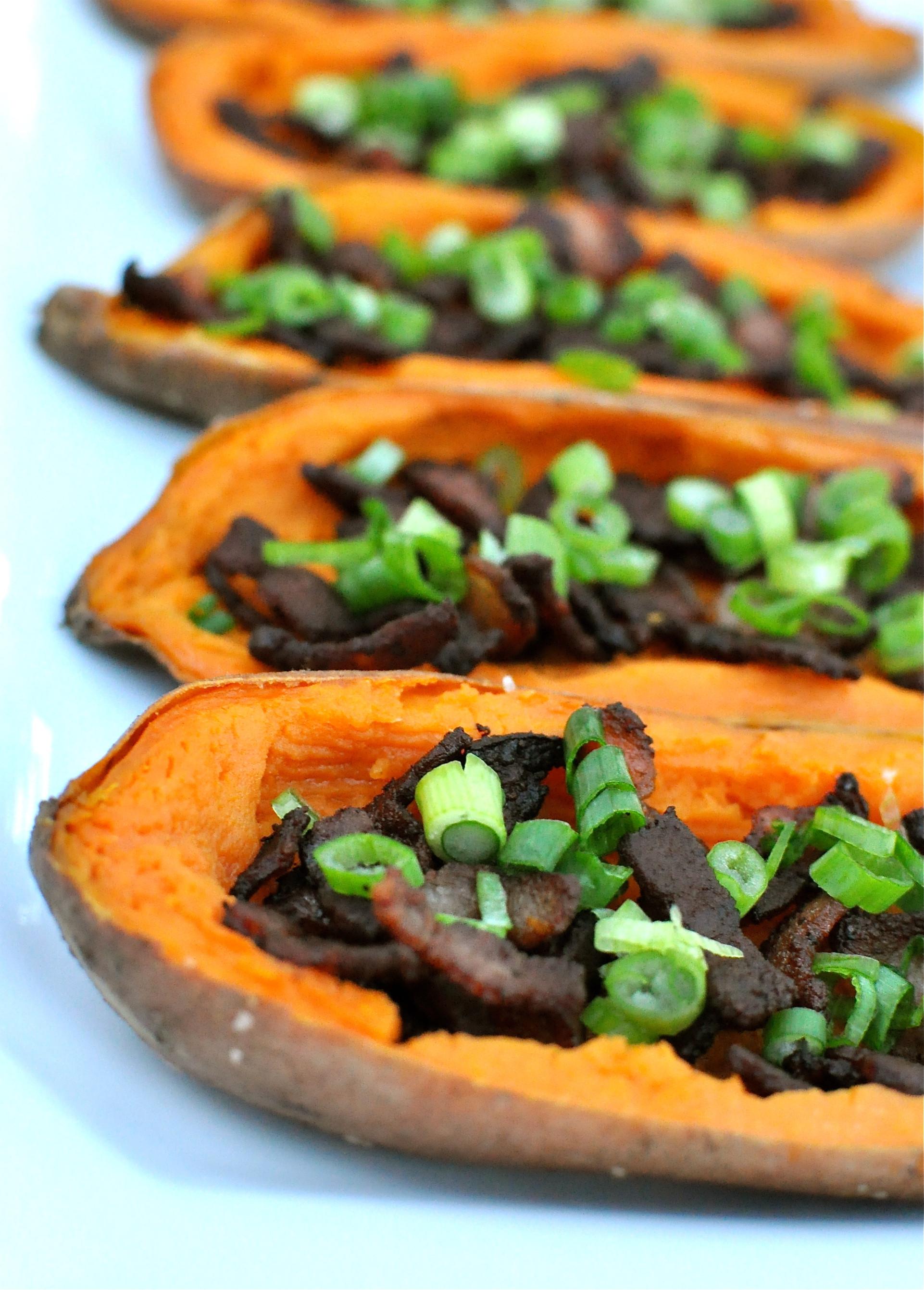 Sweet Potato Paleo  Loaded Paleo Sweet Potato Skins Fed & Fit