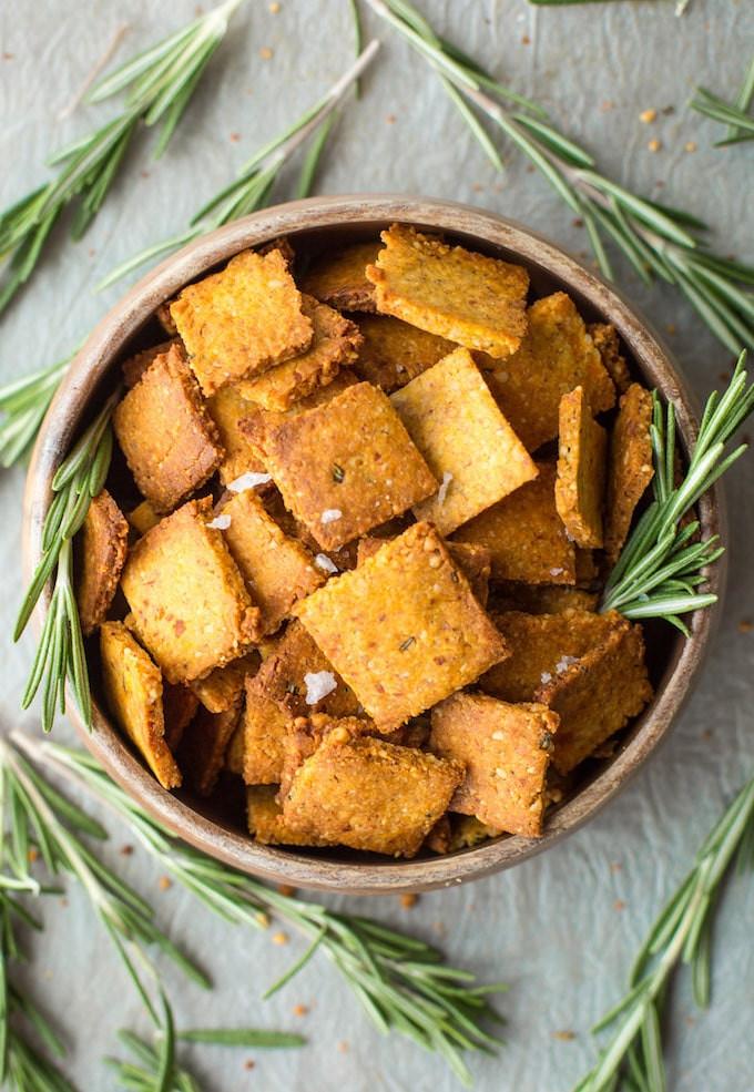 Sweet Potato Paleo  Sweet Potato Paleo Crackers A Saucy Kitchen