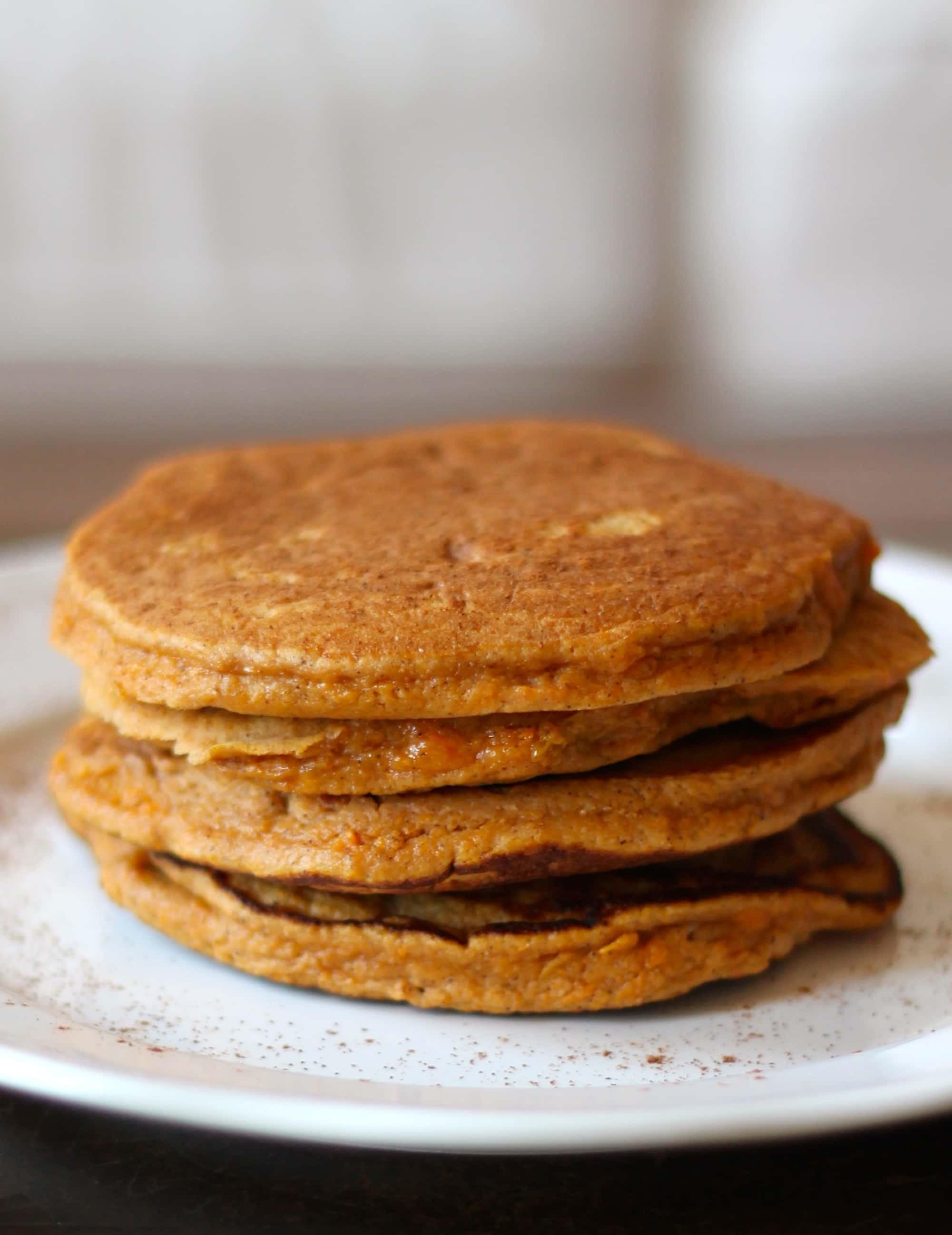 Sweet Potato Paleo  Sweet Potato Paleo Pancakes Smile Sandwich