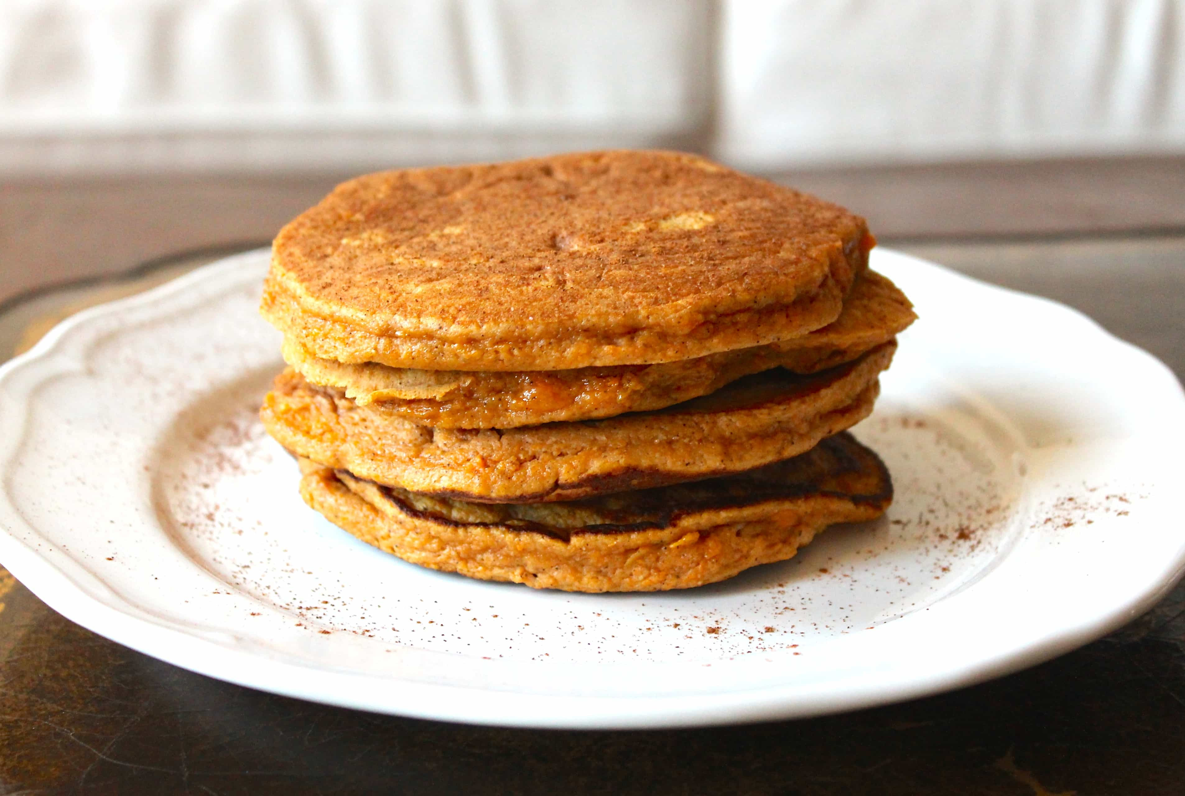 Sweet Potato Pancakes  Sweet Potato Paleo Pancakes Smile Sandwich