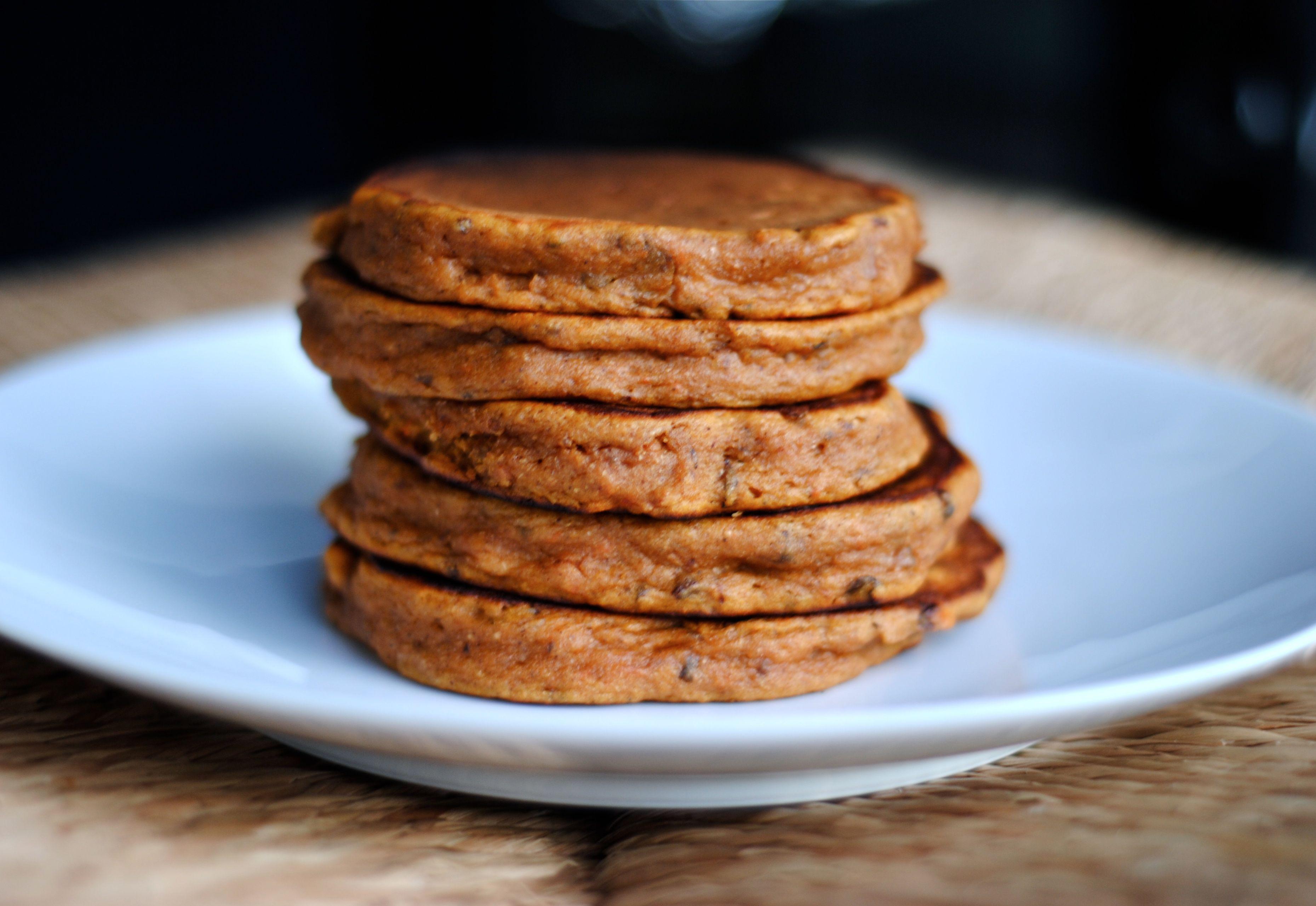 Sweet Potato Pancakes  Sweet Potato Pancakes