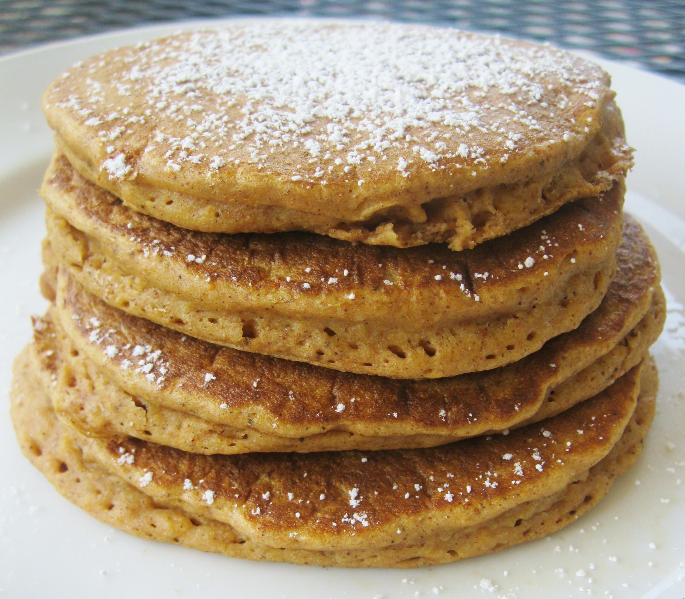 Sweet Potato Pancakes  Whole Wheat Sweet Potato Pancakes