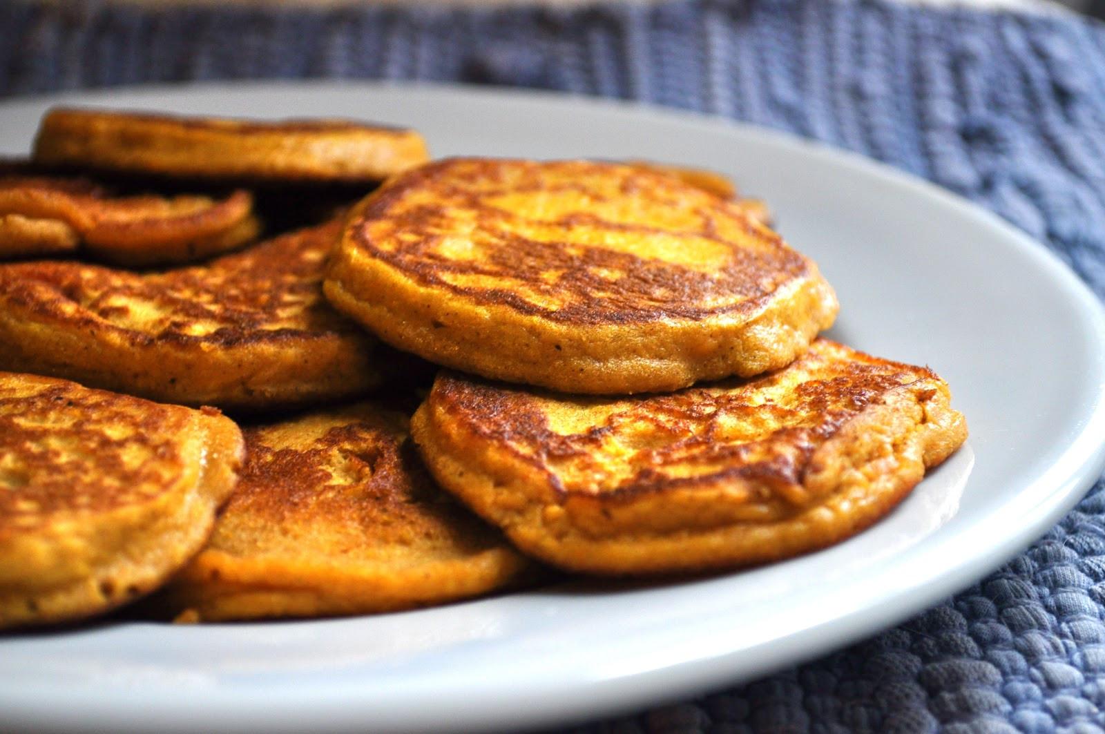 Sweet Potato Pancakes  Dreaming in Butterscotch Sweet Potato Pancakes