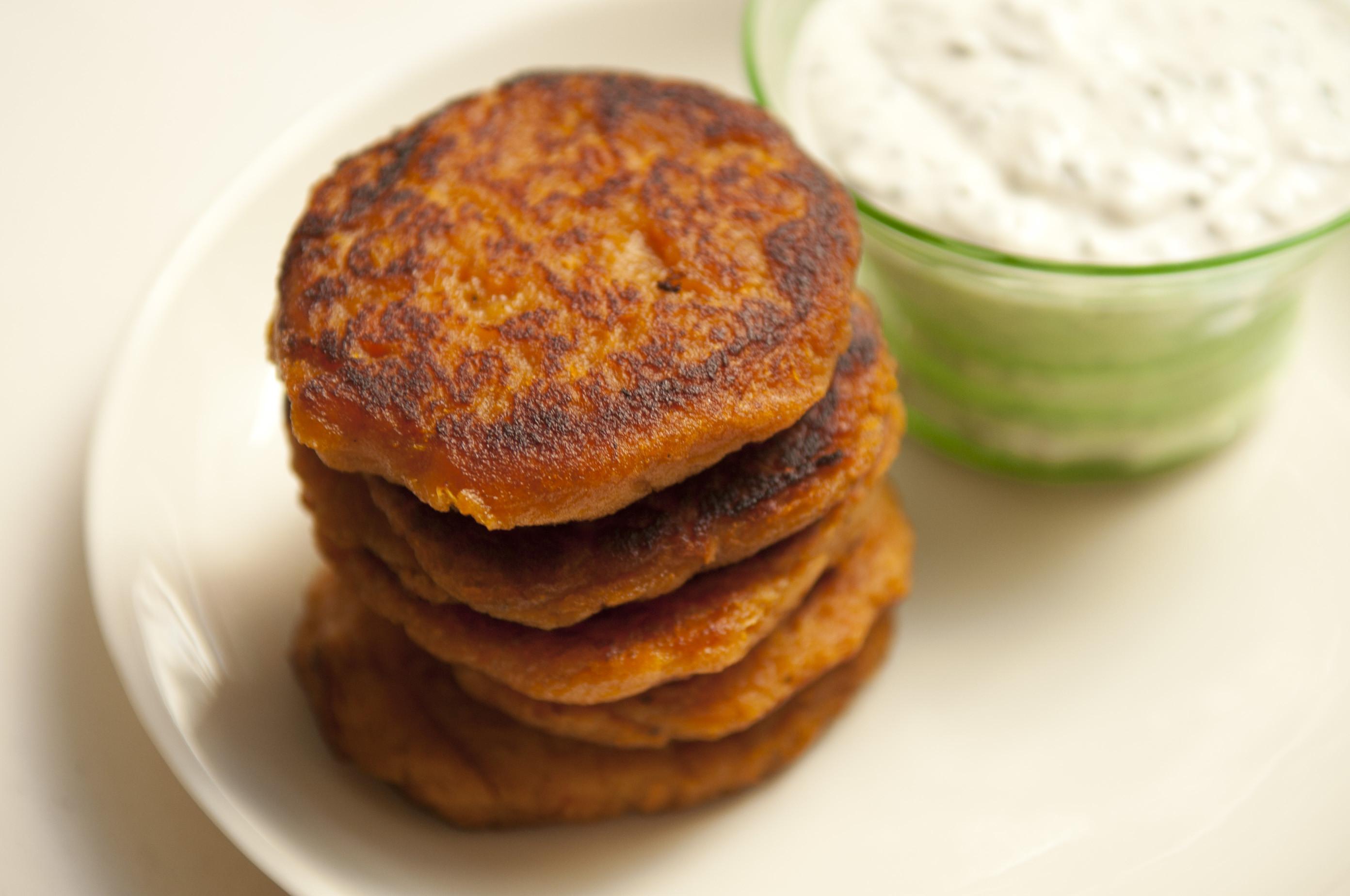 Sweet Potato Pancakes  Orna & Ella s Sweet Potato Pancakes Recipe on Food52