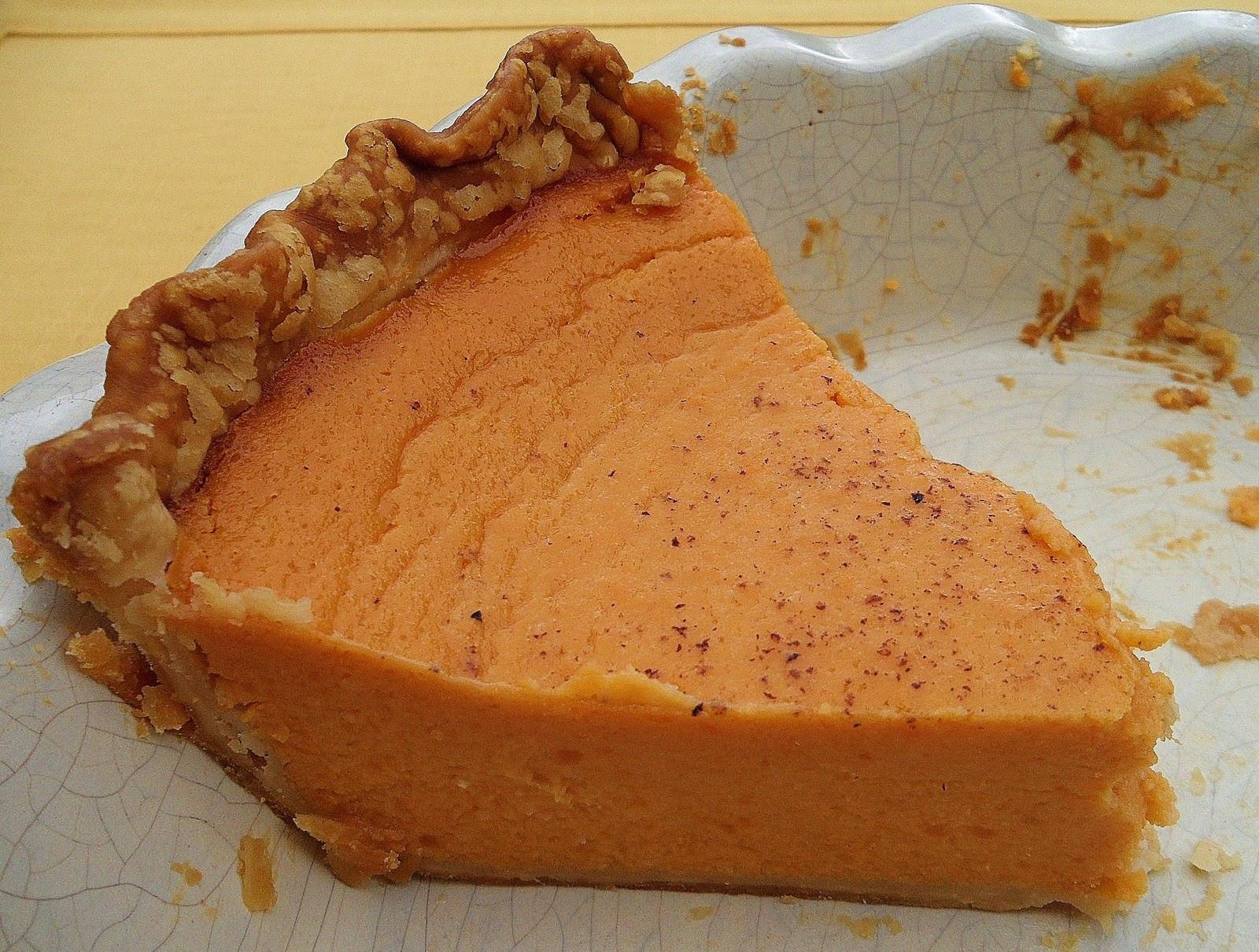 Sweet Potato Pie Recipe  Sage Trifle Old Fashioned Southern Sweet Potato Pie
