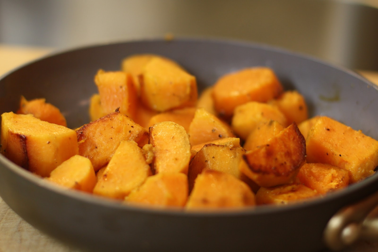 Sweet Potato Recipe  Easy Skillet Sweet Potato Recipe